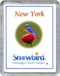 Snowbirds New York Magnet