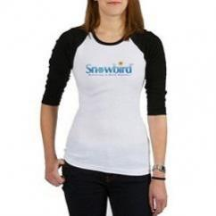 Snowbird - Wintering in Warm Weather Baseball Jersey Size Large