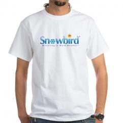 Snowbird - Wintering in Warm Weather T-Shirt Size Large