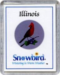 Snowbirds Illinois Magnet