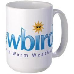 Snowbird - Wintering in Warm Weather Mugs