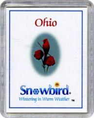 Snowbirds Ohio Magnet