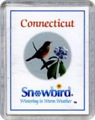 Snowbird Connecticut Magnets