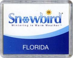Snowbirds Florida Magnet